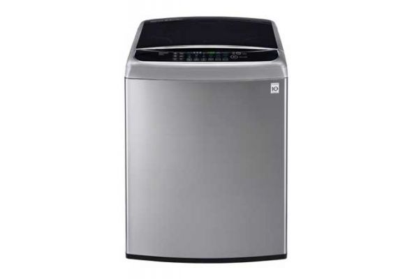 LG 4.9 Cu Ft Mega Capacity Graphite Steel High Efficiency Top Load Washer  - WT1701CV