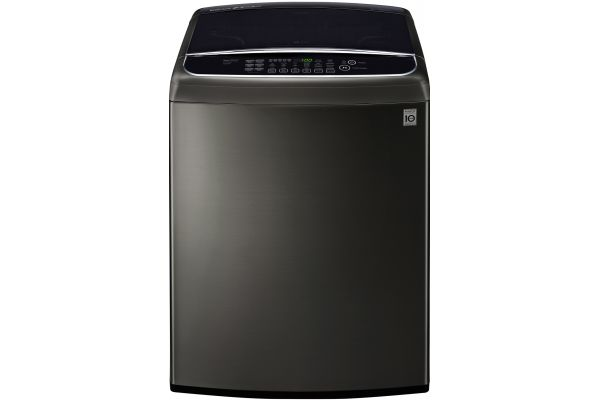 LG Black Stainless Steel Top Load Washer - WT1901CK
