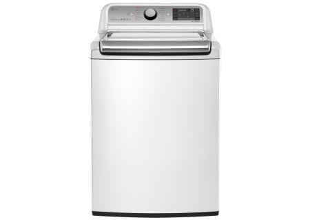 LG White Top Load Steam Washer - WT7600HWA