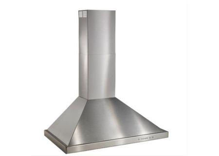 "Best 30"" Brushed Stainless Steel Wall Mount Chimney Hood - WTT32I30SB"