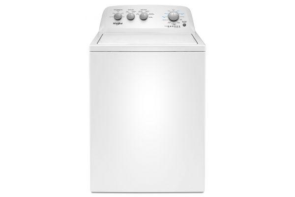 Whirlpool 3.8 Cu. Ft. White Top Loading Washer - WTW4855HW