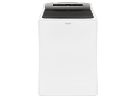 Whirlpool 4.8 Cu. Ft. HE White Top Load Washer - WTW7500GW