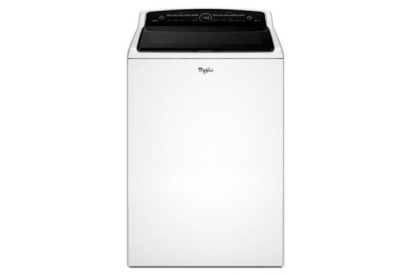 Whirlpool 5.3 Cu. Ft. White Top Loading Washer - WTW8000DW