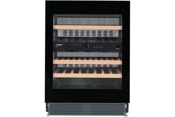 "Large image of Liebherr 24"" Black Undercounter Wine Refrigerator - WUGB-3400"