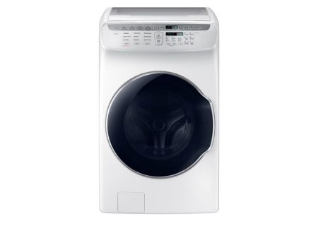 Samsung 5.5 Cu. Ft. White FlexWash Washer  - WV55M9600AW