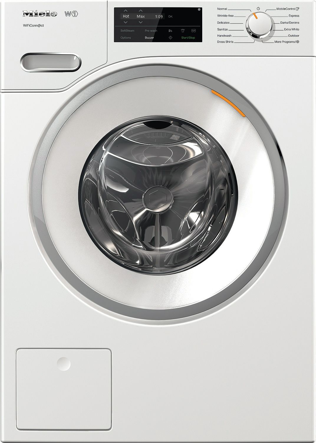 Miele W White Front Load Washer WFUSA - Abt washers