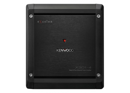 Kenwood eXcelon Class D 4-Channel Power Amplifier  - X301-4