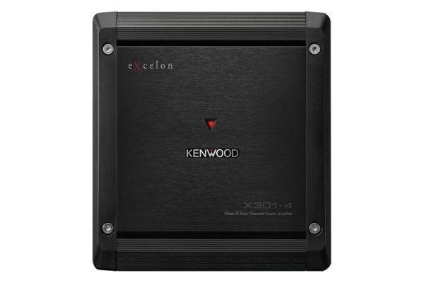 Kenwood eXcelon Class D 4-Channel Power Amplifier  - X301-4
