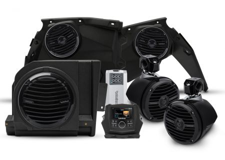 Rockford Fosgate Stage 4 Speaker Kit For Select Maverick X3 Models - X3-STAGE4