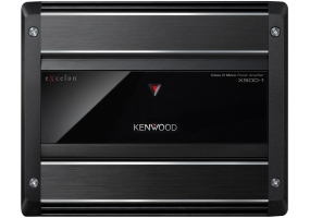 Kenwood - X500-1 - Car Audio Amplifiers