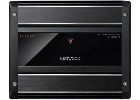 Kenwood eXcelon Digital Mono Power Amplifier - X500-1
