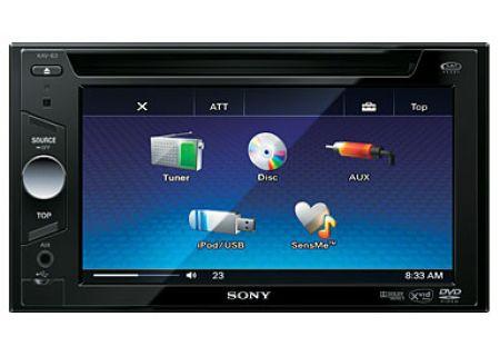 Sony - XAV-63 - Car Stereos - Double DIN