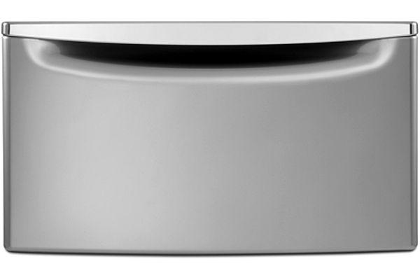 Large image of Whirlpool Metallic Slate Washer Or Dryer Pedestal - XHPC155YC