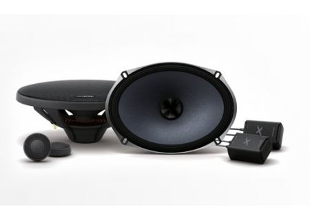 "Alpine X-Series 6x9"" Component 2-Way Speakers - X-S69C"