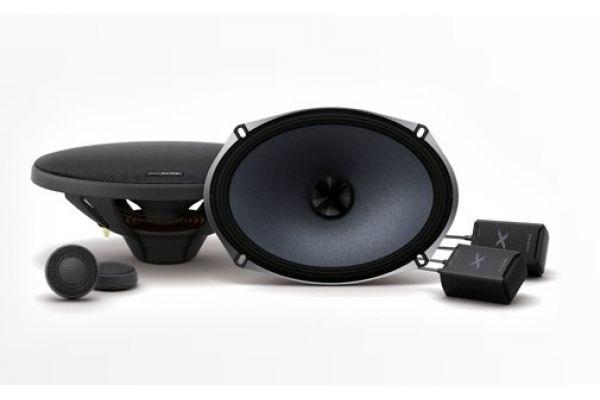 "Alpine X-Series 6"" x 9"" Component 2-Way Speakers (Pair) - X-S69C"