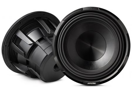 "Alpine X-Series 12"" Dual 4-Ohm Mobile Subwoofer - X-W12D4"