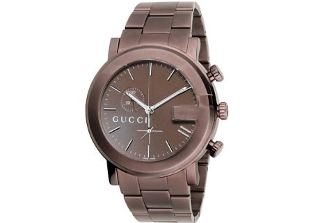 Gucci G-Chrono Collection Brown Mens Watch - 228468 I1630 2100