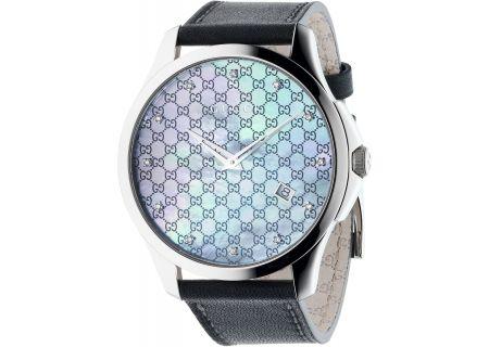 Gucci G-Timeless Collection Diamond Womens Watch - YA126307