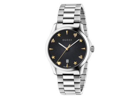 Gucci G-Timeless Stainless Steel Ladies Watch - YA1264029
