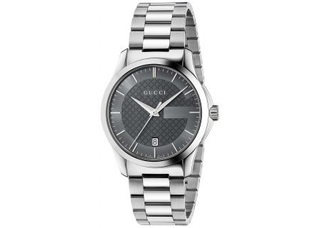 Gucci G-Timeless 38mm Stainless Steel Mens Watch - YA126441
