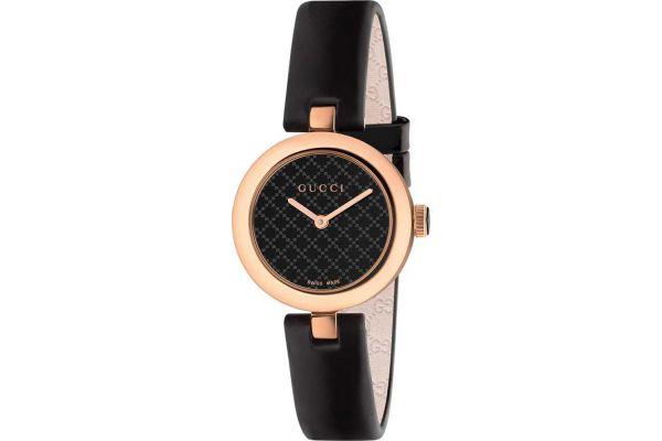 Gucci Diamantissima Collection Pink Gold PVD Ladies Watch - YA141501
