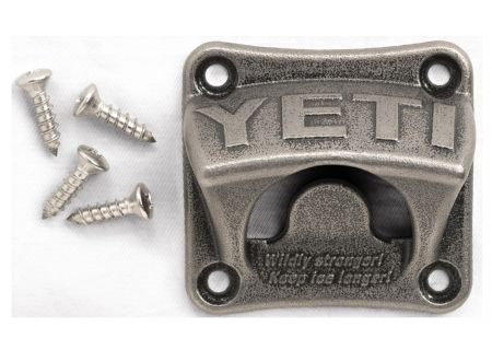 YETI Stainless Steel Wall Mount Bottle Opener - 21110000001
