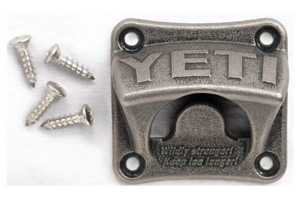 YETI Stainless Steel Wall Mount Bottle Opener - 21110000001