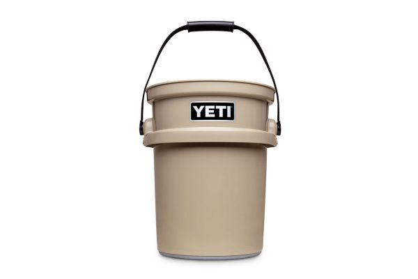 Large image of YETI Tan LoadOut 5-Gallon Bucket - YLOBT