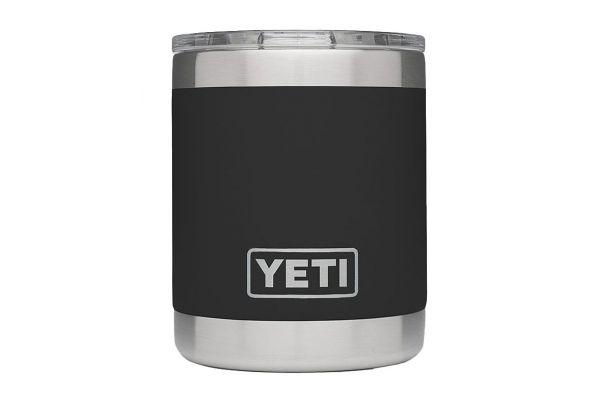 Large image of YETI Rambler 10 Oz Lowball In Black - 21071010006
