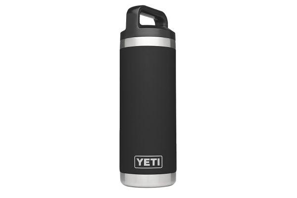 YETI Black Rambler 18 Oz Water Bottle  - YRAMB18BK