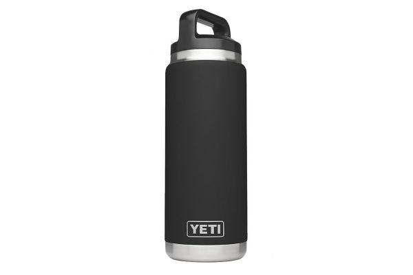 YETI Black Rambler 26 Oz Water Bottle  - YRAMB26BK