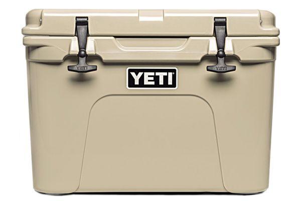 Large image of YETI Tundra 35 Hard Cooler In Desert Tan - 10035010000