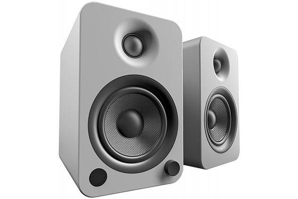 Kanto YU4 Powered Matte Grey Bookshelf Speakers (Pair) - YU4MG