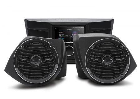 Rockford Fosgate Stereo And Front Speaker Kit for Select YXZ Models - YXZ-STAGE2