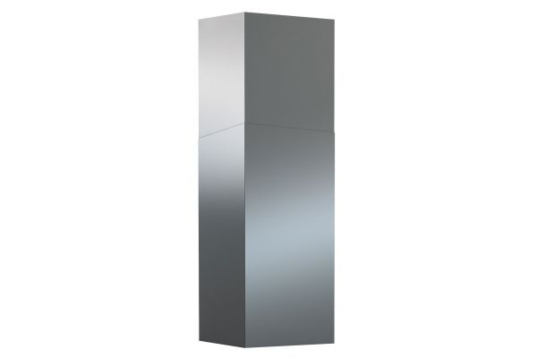 Large image of Zephyr 12 Ft. Black Stainless Steel Duct Cover Extension - Z1C00ANBS