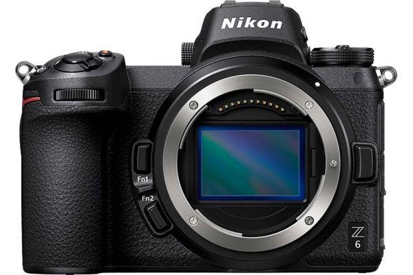 Nikon Z 6 24.5 Megapixel Black Mirrorless Digital Camera Body - 1595