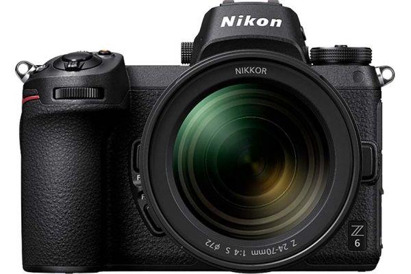 Large image of Nikon Z 6 24.5 Megapixel Black Mirrorless Digital Camera With 24-70mm Lens Kit - 1598
