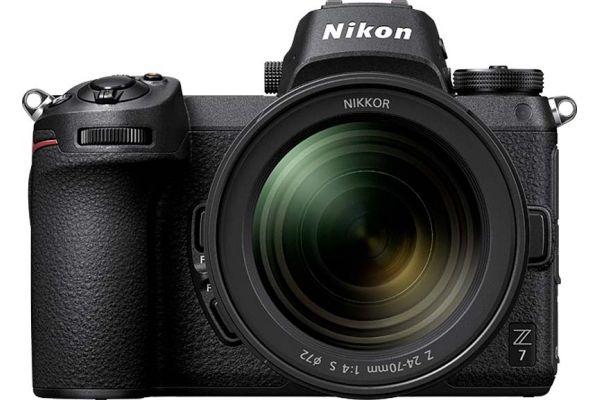 Nikon Z 7 45.7 Megapixel Black Mirrorless Digital Camera With 24-70mm Lens Kit - 1594