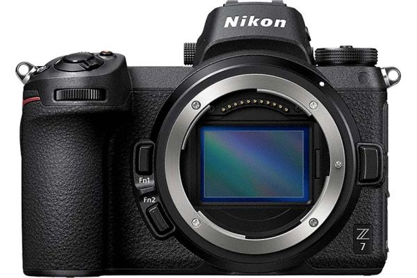 Large image of Nikon Z 7 45.7 Megapixel Black Mirrorless Digital Camera Body - 1591