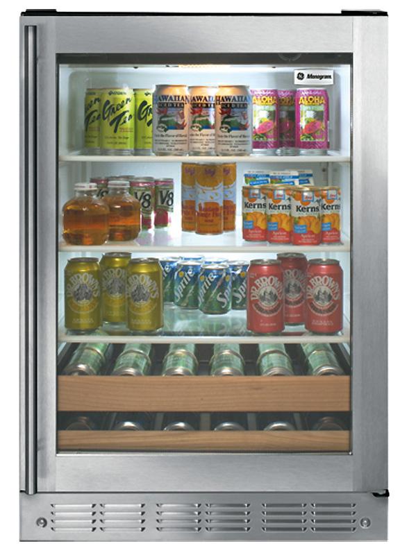 Ge Monogram Stainless Steel Beverage Center Zdbr240hbs
