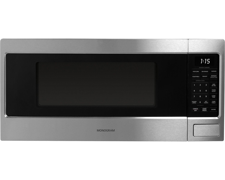 Monogram Stainless Steel Countertop Microwave Oven Zem115sjss