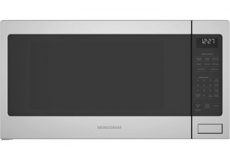 Monogram Stainless Steel Countertop Microwave Oven - ZES1227SLSS