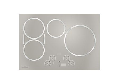 "Monogram 30"" Stainless Steel Electric Induction Cooktop - ZHU30RSJSS"