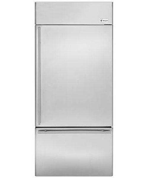 Monogram 36 Stainless Steel Built In Bottom Freezer Refrigerator Zics360nhrh