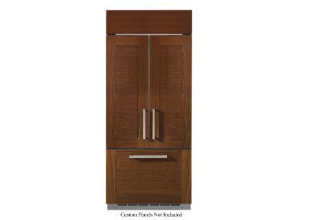 """Monogram 36"""" Custom Panel Built-In French Door Refrigerator - ZIP360NH"""