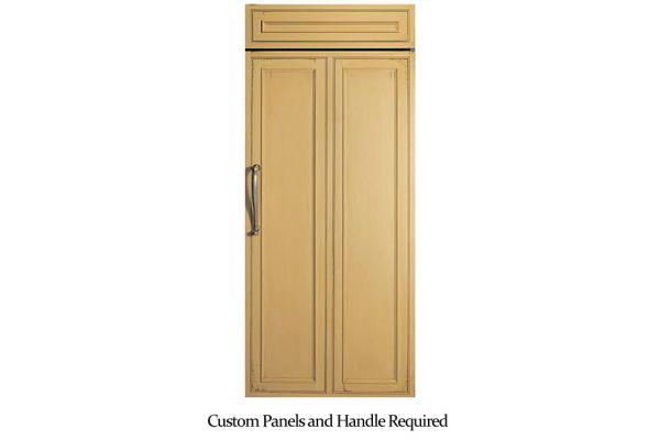 "Monogram 36"" Custom Panel Built-In All Refrigerator - ZIR360NHRH"