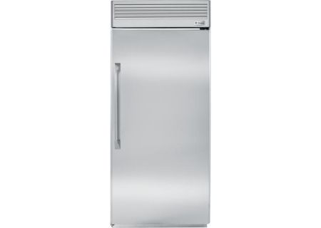 "Monogram 36"" Stainless Steel Right Hinged Built-In All Refrigerator - ZIRP360NHRH"