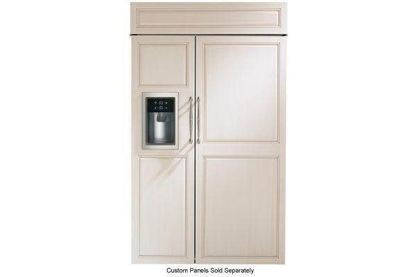 "Monogram 48"" Panel Ready Built-In Side-By-Side Refrigerator  - ZISB480DK"
