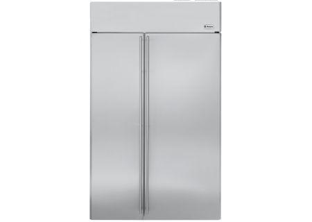 Monogram - ZISS480NHSS - Built-In Side-by-Side Refrigerators
