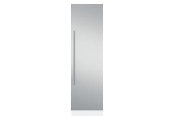 "Monogram 24"" Fully Integrated Refrigerator/ Freezer Euro Stainless Steel Door Panel Kit - ZKCSC244"